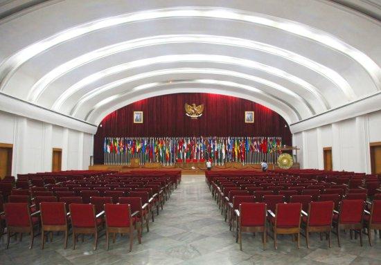 Gedung Merdeka tempat berlangsungnya Konferensi Asia Afrika