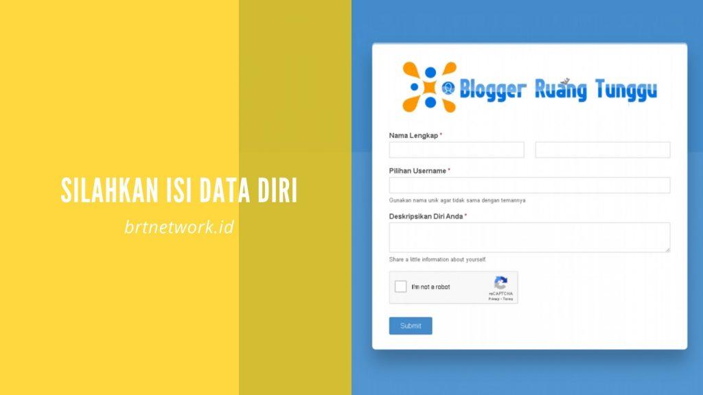 Membuat profil di BRT Network