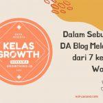 Kelas Growth Blogger