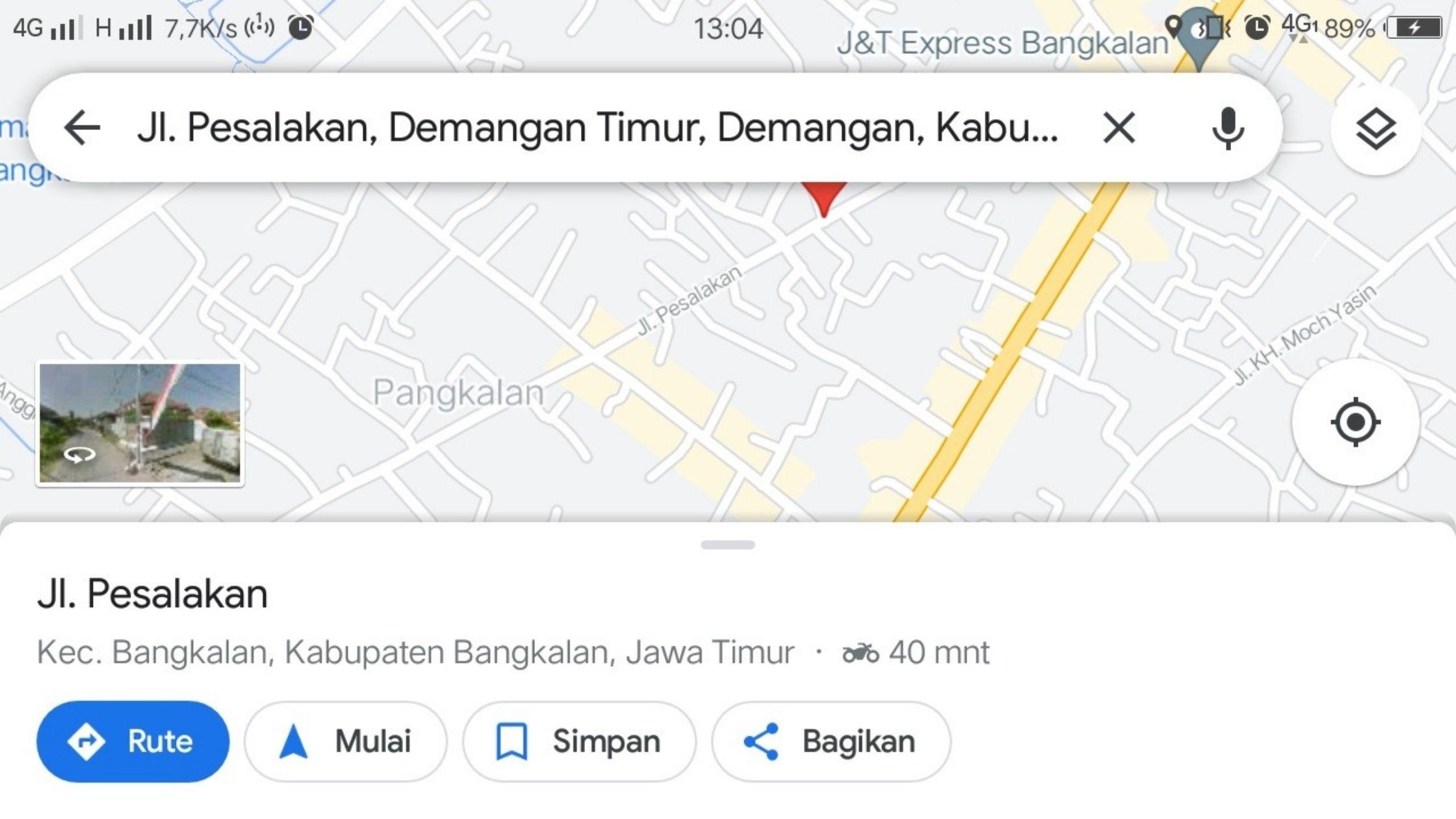 Jalan Pesalakan Bangkalan