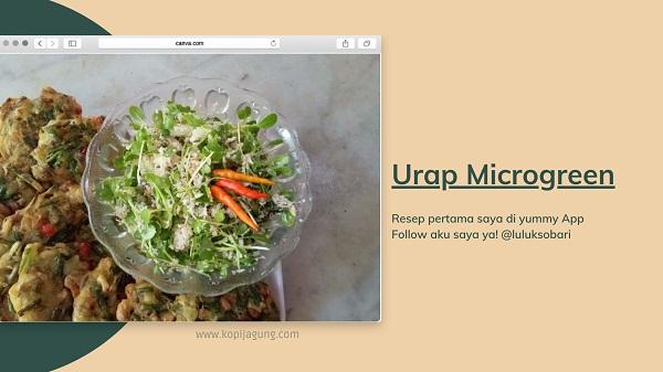 Resep microgreen